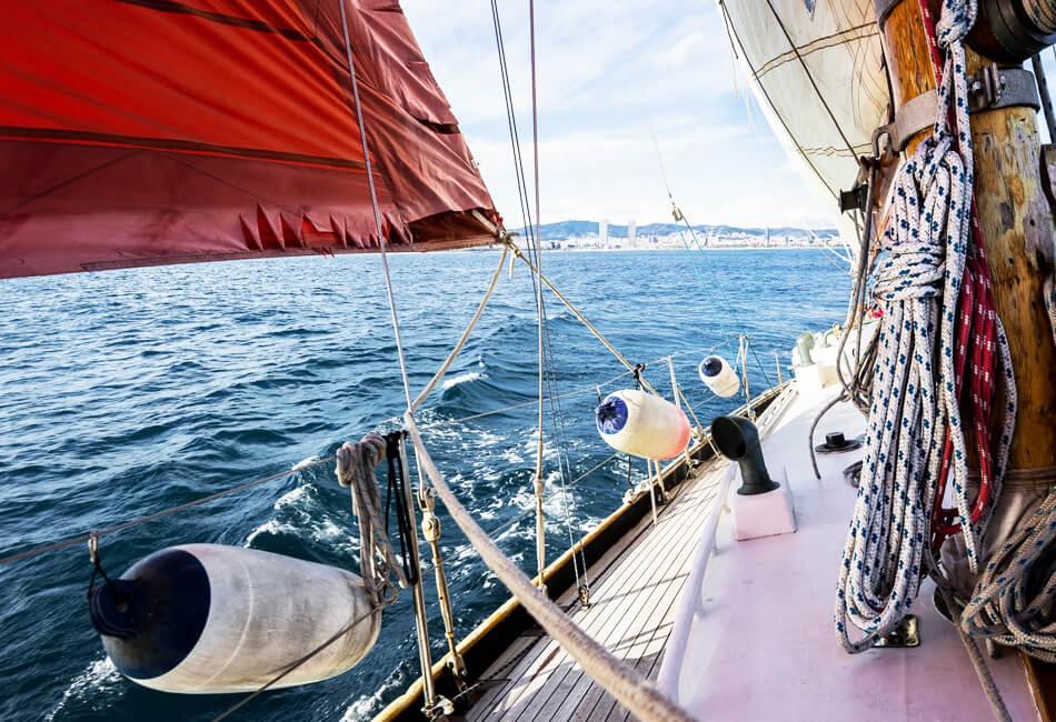 41 Foot Sailboat