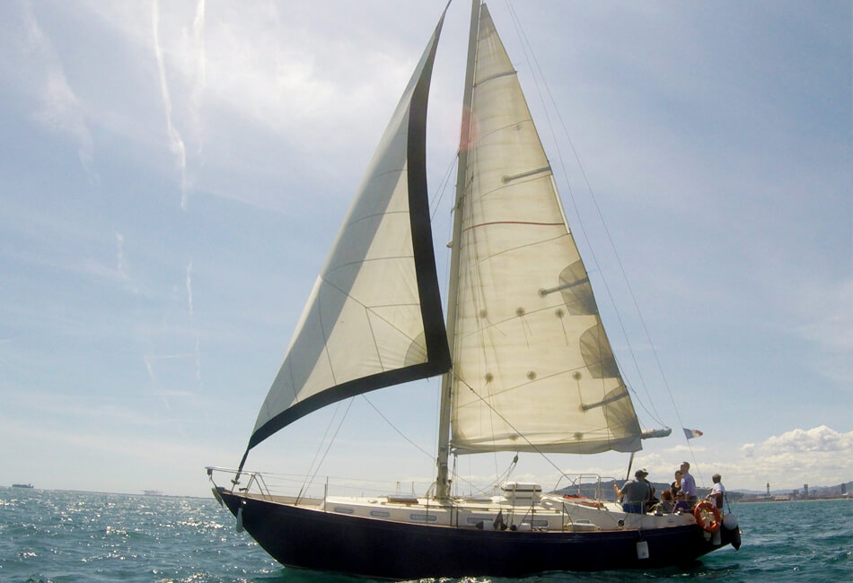 38 ft Rival Classic Sailboat