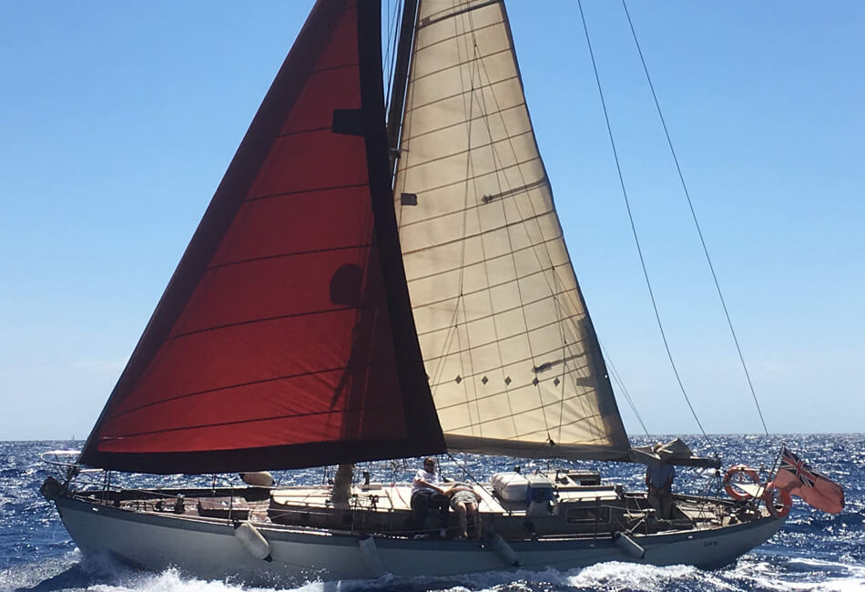 41 ft Gemini Classic Sailboat