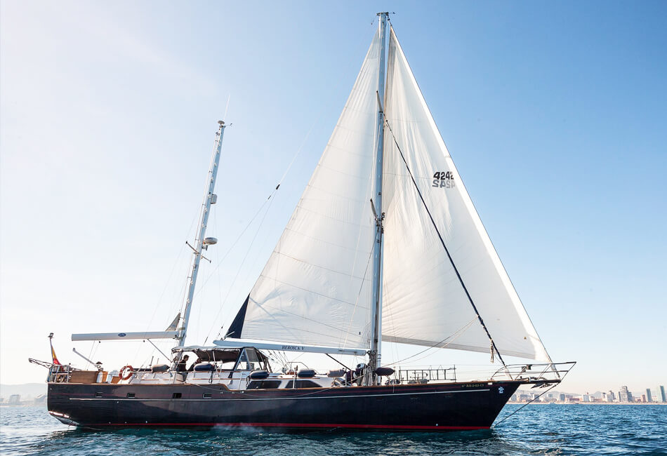 68 ft Irwin Sailboat